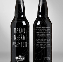 Mahou Negra Premium. A Design, Illustration, and Advertising project by Pedro  Manero Aranda - Nov 29 2013 12:00 AM