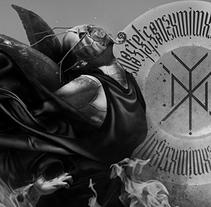 NYX, Anti Denim's 666 Frames Project. A Design&Illustration project by mimetica - Nov 29 2013 12:00 AM