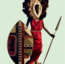 Tribus I. Um projeto de Ilustração de Fco Javier Roman Martinez         - 28.10.2013