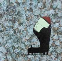 personaje 2. A Illustration project by Víctor Eusamio - 12.02.2013