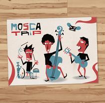 Mosca Trip. A Design, Illustration, and Advertising project by Rafa Garcia  - Apr 22 2010 12:00 AM