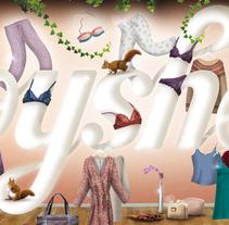 OYSHO. Un proyecto de Diseño, Ilustración y Publicidad de Adalaisa  Soy - Miércoles, 04 de julio de 2012 00:00:00 +0200