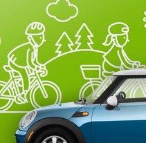 Parking. Un proyecto de Diseño, Ilustración e Instalaciones de Babitas Character Design  - 04-12-2013