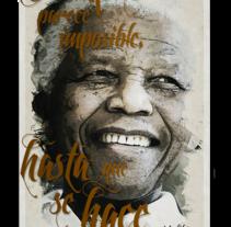 Madiba. A Illustration project by Iban Vaquero         - 05.12.2013