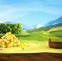 La Lechera - App Game. A Design, Illustration, Software Development, UI / UX, 3D&IT project by Melo  - 08-12-2013