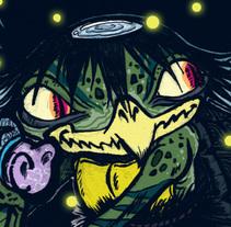 Kappa yokai. Un proyecto de Ilustración y Diseño de personajes de Chiko  KF - Martes, 03 de diciembre de 2013 00:00:00 +0100
