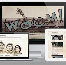 Website & Blog: Los Increibles. A Design, and Software Development project by Gilber Jr         - 14.12.2013