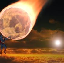 Superman. Um projeto de 3D de Alvaro Palacio Cortes         - 18.02.2014