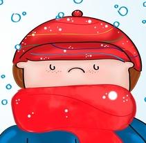 Nieve. Un proyecto de Ilustración de Gabriela Moo - Martes, 17 de diciembre de 2013 00:00:00 +0100