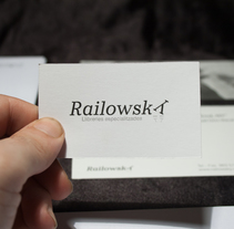 Railowsky. A Design, and Advertising project by Jose Luis Díaz Salvago - 17-12-2013