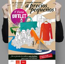 5ª Feria Outlet Murcia, final y descarte. Un proyecto de Diseño, Ilustración y Publicidad de Señor Rosauro         - 17.10.2012