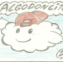BOCETO CUENTO INFANTIL NUBE . A Illustration project by david  alcala cerrada - 19-01-2014
