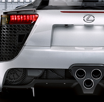 Lexus LFA. Un proyecto de 3D de Everything .Is         - 16.04.2014
