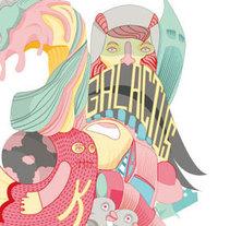 Galactus. Un proyecto de Ilustración de Gerard de Antolin Gonzalez - Lunes, 17 de febrero de 2014 00:00:00 +0100