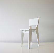 Diseño de Silla. Un proyecto de Diseño de muebles de Verónica Seco Fernández - 26-01-2014