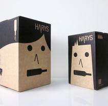 HARYS, el vino con nombre de vino. A Br, ing, Identit, Graphic Design, and Packaging project by Iglöo         - 27.01.2014