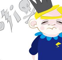 El principe enfadado. Um projeto de Design de personagens de Elvira Rojas         - 29.01.2014