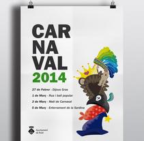 Carnaval 2014. Um projeto de Design, Ilustração e Design gráfico de Nerea Gutiérrez         - 23.01.2014