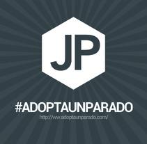 Comunicación #adoptaunparado. Un proyecto de Dirección de arte, Br, ing e Identidad y Diseño gráfico de JP         - 02.02.2014