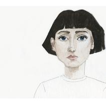 Julia. A Illustration project by Irati Garcia Rubio         - 11.05.2012