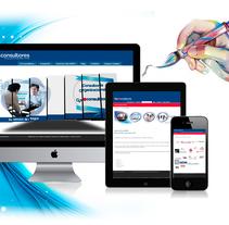 Diseño de webs. Um projeto de Desenvolvimento Web de Veronica Ortiz Risco         - 05.02.2014