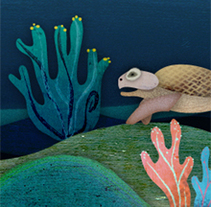 Octopus Game. A Illustration project by Stiliana Mitzeva - 10-07-2013