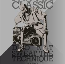 Lirical Classic. Rakim. Un proyecto de Ilustración de Naone  - 11-02-2014