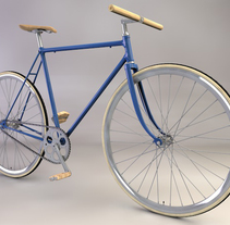 fixie project. A 3D&Industrial Design project by Héctor del Amo - 16-02-2014