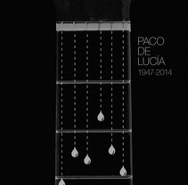 Paco de Lucia (1947-2014). A Design, Graphic Design, and Screen-printing project by max rompo         - 26.02.2014