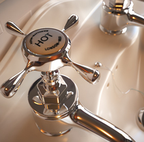 BATHROOM TAPS. A Design, Advertising, and 3D project by David Ortiz         - 20.01.2014
