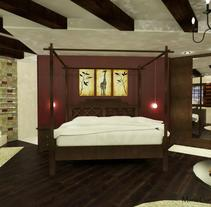 Suite Hotel . Um projeto de Design de interiores de Maria Garcia Garcia         - 27.02.2014