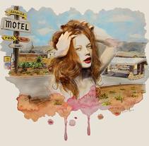 Motel . Un proyecto de Ilustración de Thani Mara Mara - 01-03-2014