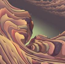 Koyaanisqatsi. Un proyecto de Ilustración, Paisajismo y Pintura de Cristian Eres - 03-03-2014