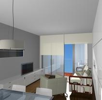 comedor barcelona. Un proyecto de 3D de Montse Quirós         - 03.03.2014