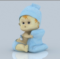 Bebé. Um projeto de 3D de Yordany Ovalle Muñoz         - 06.03.2014