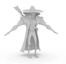 Vaquero. Um projeto de 3D de Yordany Ovalle Muñoz         - 06.03.2014