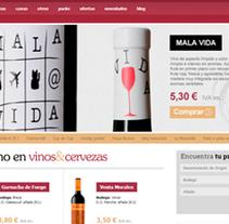 Vinos y Cervezas. A Web Development project by Alex Peris         - 09.06.2013