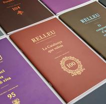 Relleu Revista. Un proyecto de Dirección de arte, Diseño editorial y Diseño gráfico de Jordi Matosas         - 09.03.2012