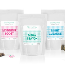 SkinnyMint Tea. Branding, Packaging y Diseño Web. A Br, ing, Identit, Packaging, and Web Design project by Mara Rodríguez Rodríguez         - 11.03.2014