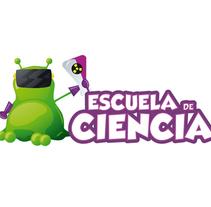 Escuela de Ciencia. Un proyecto de Diseño, Ilustración, Dirección de arte, Br, ing e Identidad, Gestión del diseño, Diseño gráfico y Diseño Web de Samuel Ciprés Larrosa - 19-02-2014
