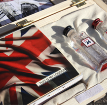 Mystery Pack Beefeater London. A Marketing, Packaging, and Product Design project by Natalia Martín         - 13.03.2014