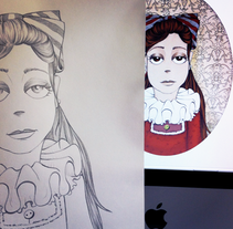 Retratos. A Illustration project by Sara I. Toribio - 14-03-2014