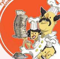 Ilustración: Cartel del expectáculo Tilín Tilín Telón.. Um projeto de Design e Ilustração de Sergio Rodríguez Rodríguez         - 24.03.2014
