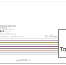 Catálogo TAPRIDEL Descanso. A Br, ing, Identit, Design, Editorial Design, and Graphic Design project by Marta Serrano Sánchez - Mar 26 2014 12:00 AM