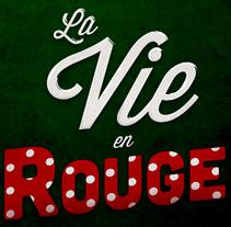 La vie en rouge. A Design project by Paloma  Serrano  - 09-03-2014
