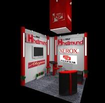 Diseño de Stands y Sets TV. Un proyecto de 3D de Carlos Busquets Cebrian         - 25.03.2014