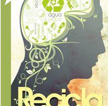 """Carteles """"medio ambiente"""". Un proyecto de Diseño gráfico de Sergio Rodríguez Rodríguez         - 25.03.2014"""