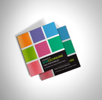 Díptico: Jornadas Interculturalidad. A Graphic Design project by Miguel Pande         - 27.03.2014