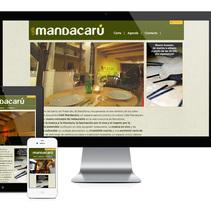 Mandacarú responsive website. A IT project by Zahira Rodríguez Mediavilla - Apr 02 2014 12:00 AM