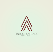 Logotipo y web Pintos & Salgado abogados. Un proyecto de Br, ing e Identidad, Diseño gráfico y Diseño Web de Oitenta  Objects are not just things  - 02-04-2014